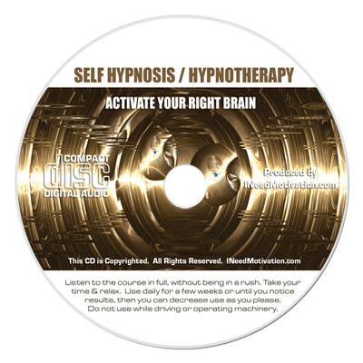 activate right brain hypnosis