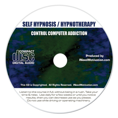 control computer addiction hypnosis