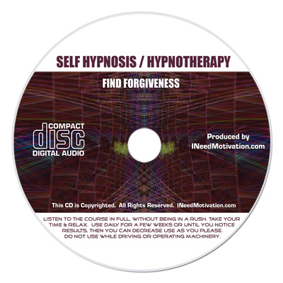 find forgiveness hypnosis