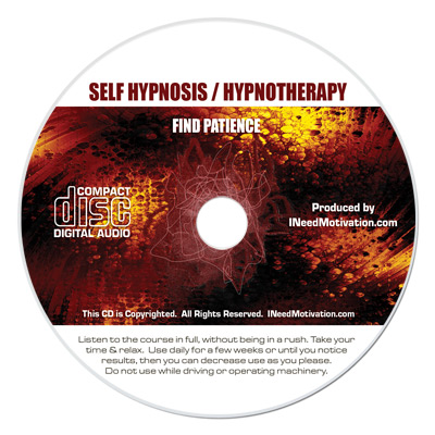 find patience hypnosis