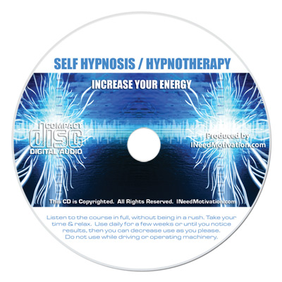 increase your energy hypnosis