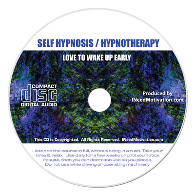 love wake up early hypnosis