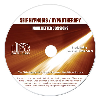 better decisions hypnosis